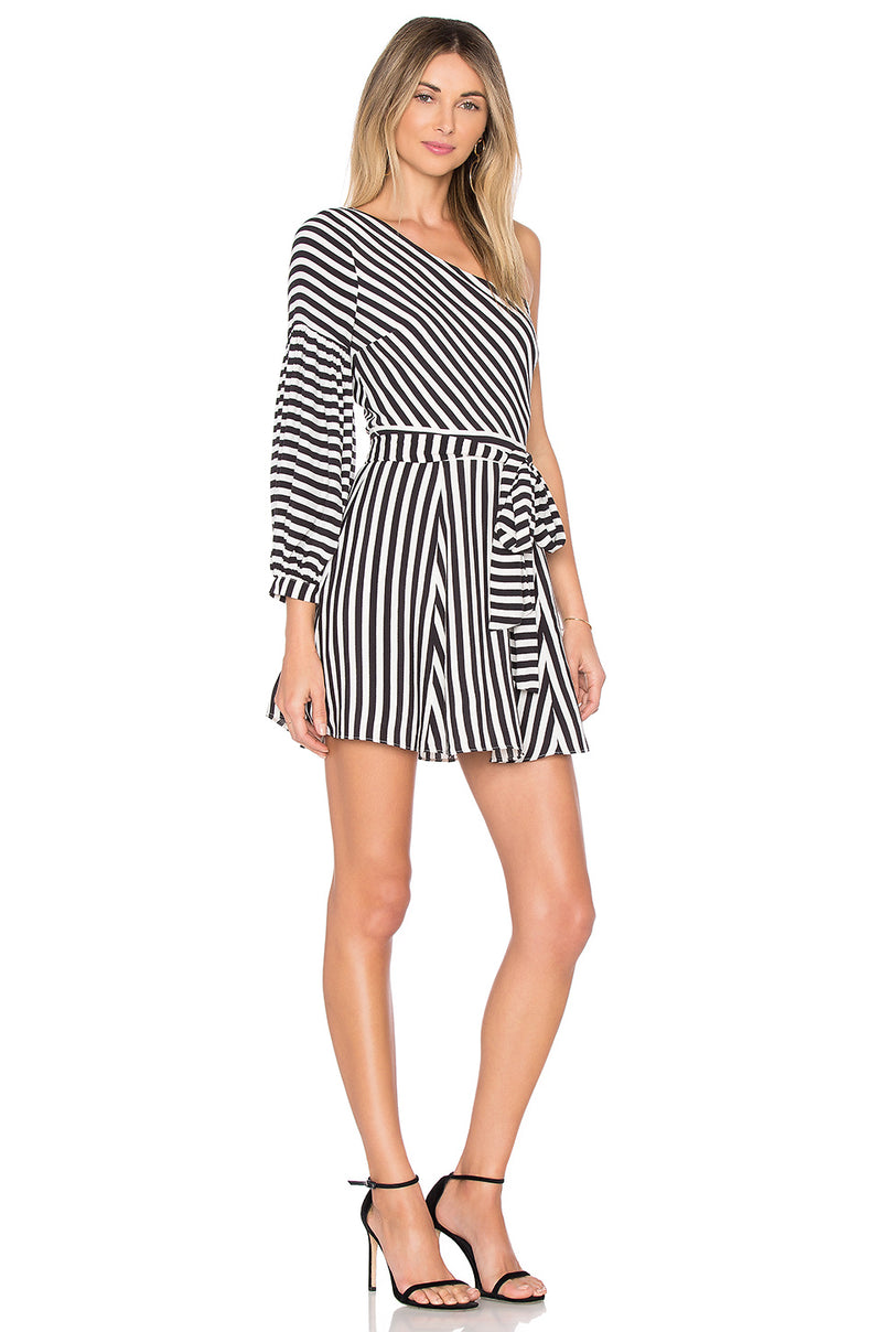 Lovers + Friends Huntington Bold Stripe Dress