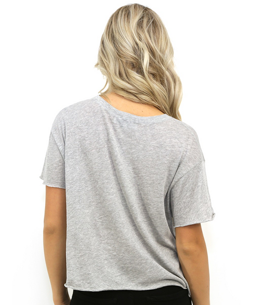 Wildfox Hostess With The Mostess Country Pocket Tee