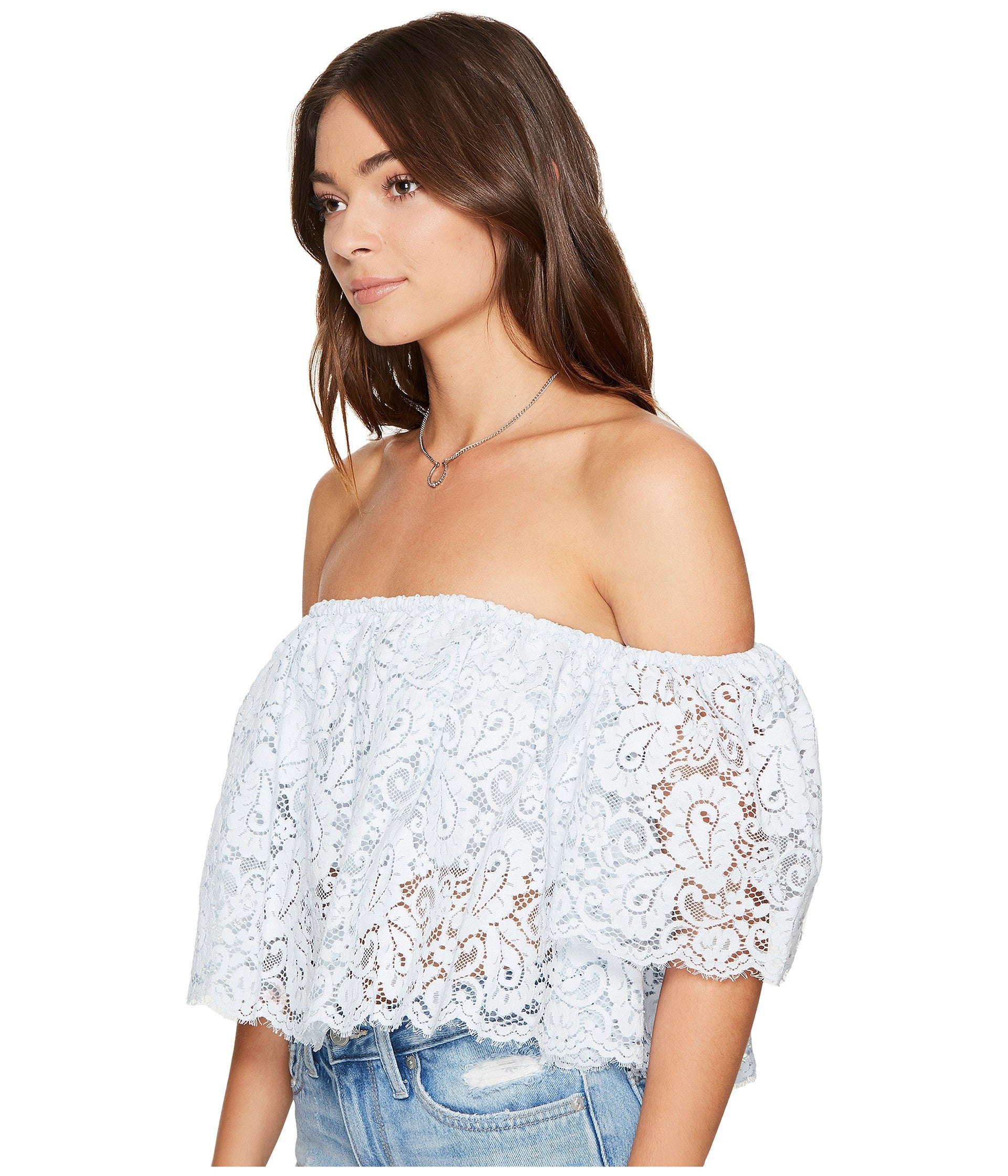 0b03b1a4d0b Lovers + Friends Bayside Off Shoulder Lace Top – Bliss Bandits