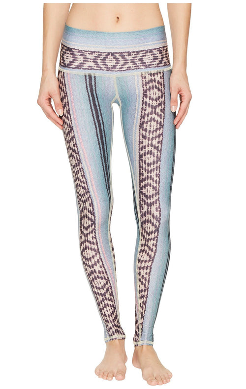 Teeki Border Towns Blue Hot Pant