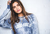 Suburban Riot Good Vibes Burnout Wash Sweatshirt
