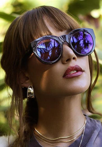 Quay Muse Fade Black Brown Sunglasses