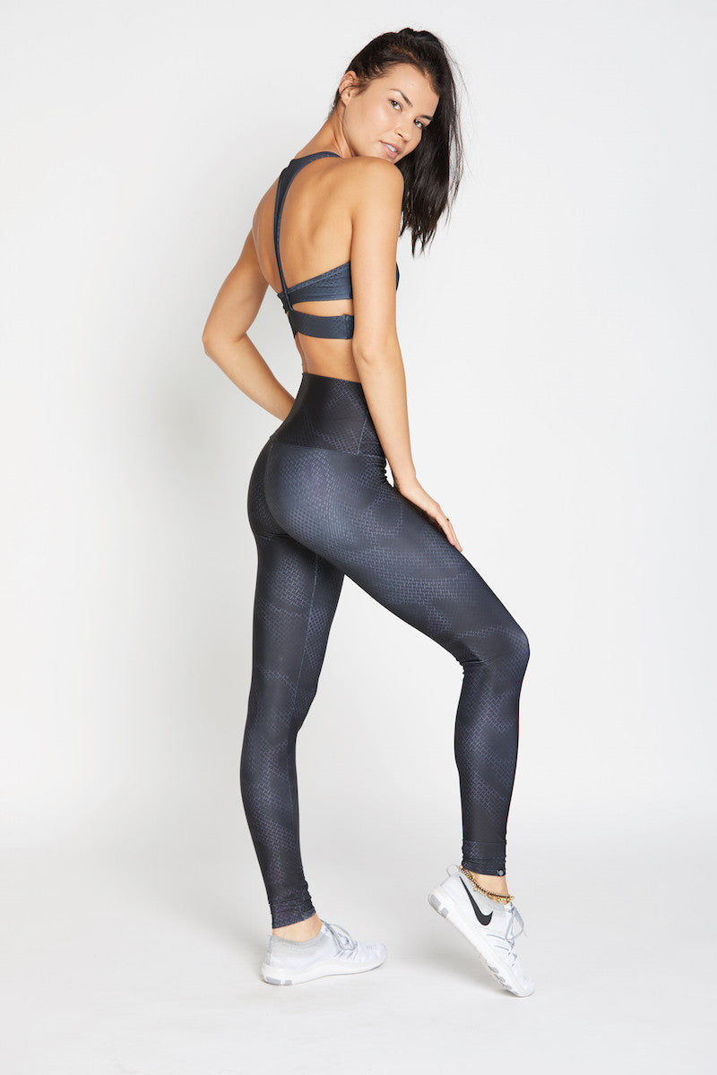 Onzie High Rise Legging Urban Fence