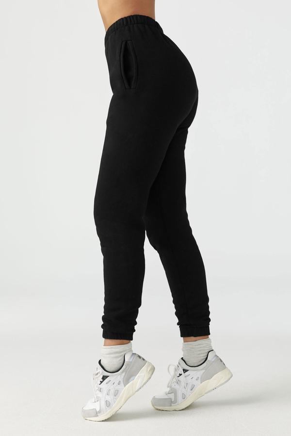 Joah Brown Empire Jogger Sweatpant Black