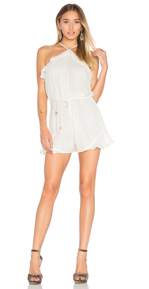 Lovers + Friends Jolie Ruffle Romper