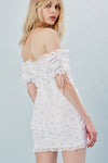 For Love and Lemons Magnolia Mini Dress