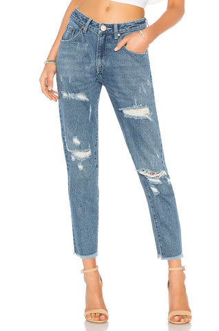 One Teaspoon Black Swan Preachers High Waist Skinny Jean