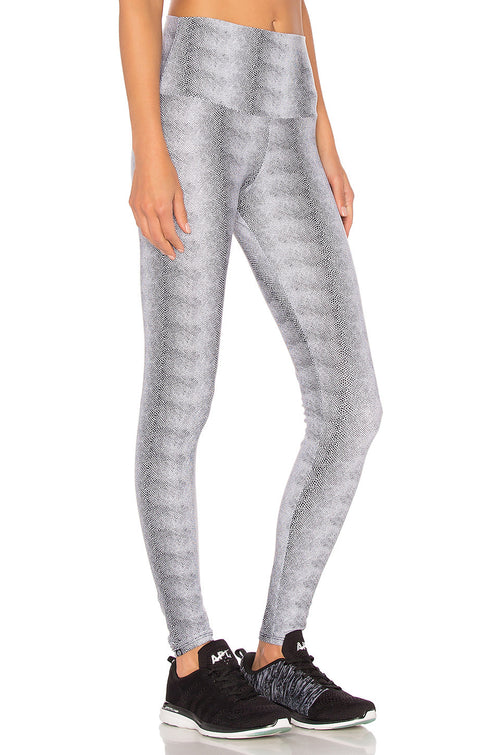 Onzie High Rise Legging White Venom