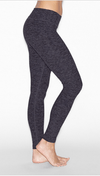Beyond Yoga Space Dye Black Steel Leggings