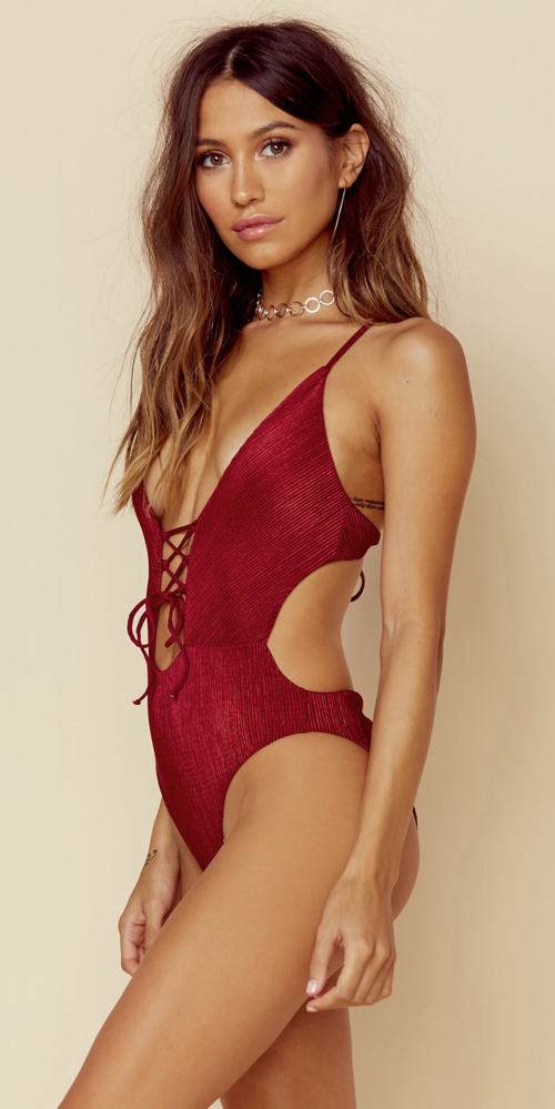 Blue Life Swim Enchanted One Piece Ruby