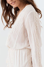 Spell & The Gypsy Cinder Blouse Top White