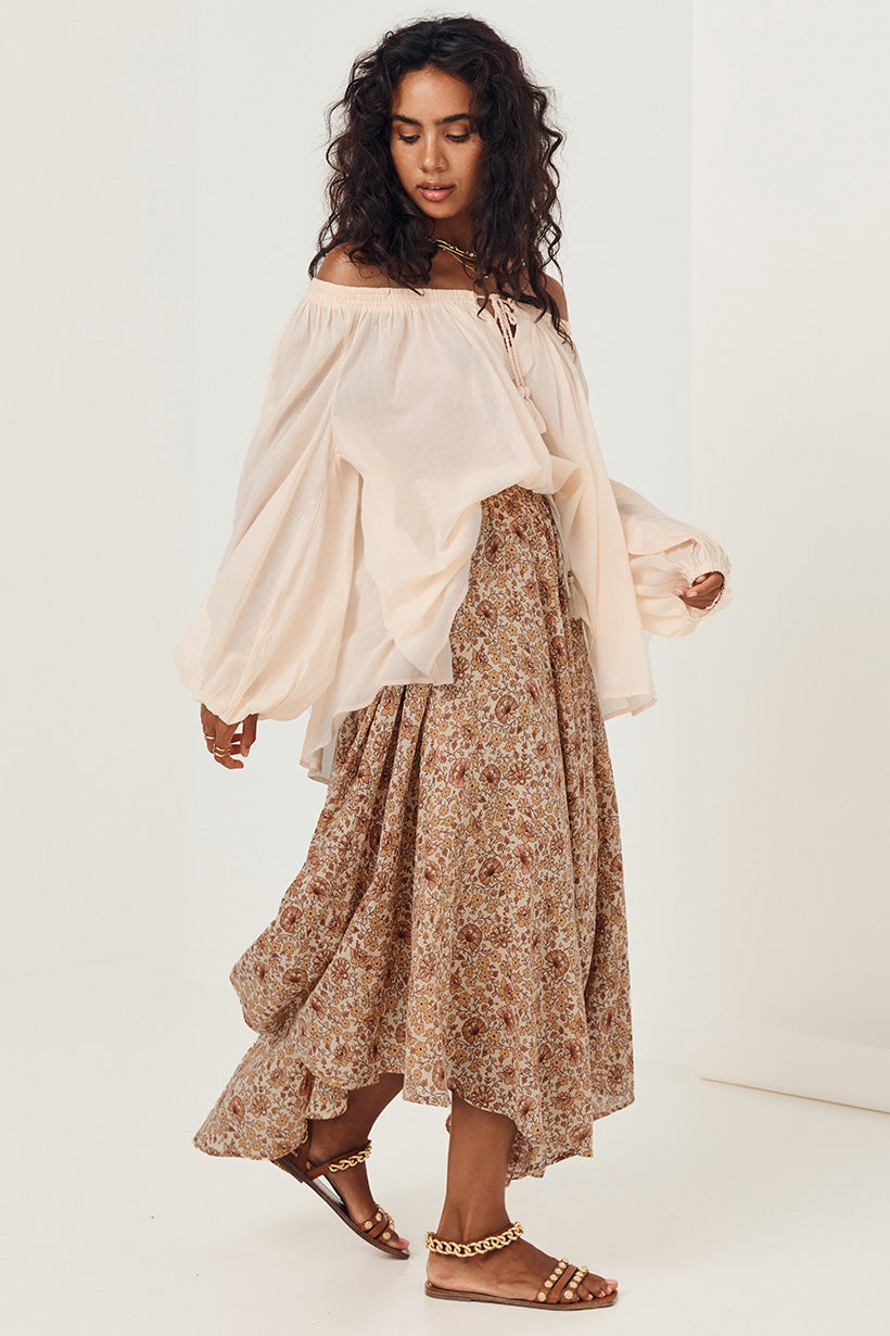 Spell & The Gypsy Sundown Kerchief Skirt Spice