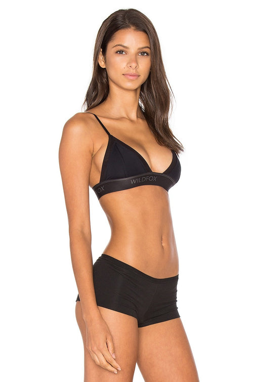 Wildfox Intimates Mesh Triangle Bra