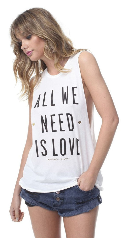 Spiritual Gangster All We Need Is Love Coachella Tank