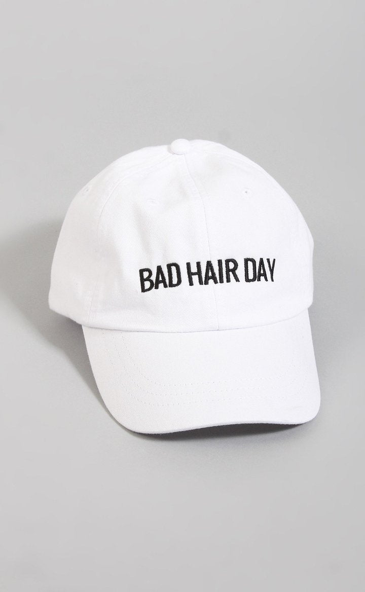 Friday + Saturday Bad Hair Day Hat