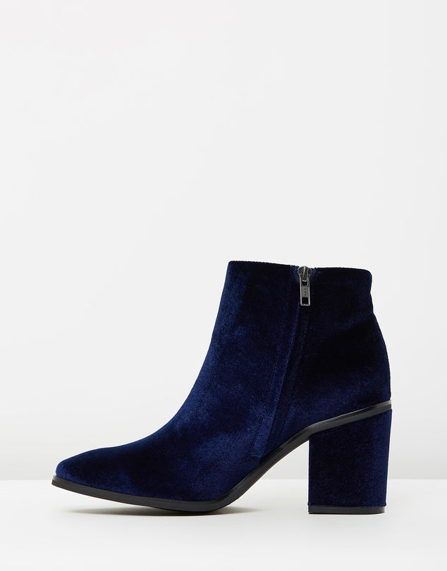 Sol Sana Fox Boot II Navy Velvet