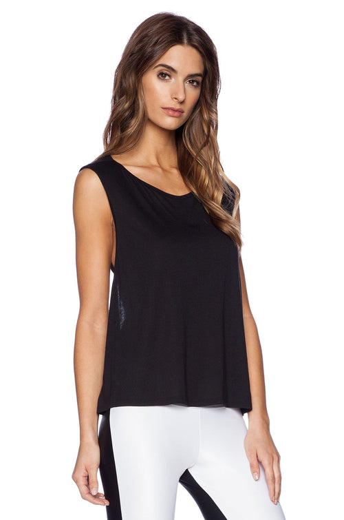 Koral Aura Sleeveless Top Black