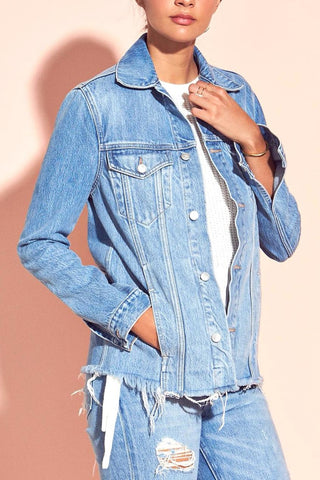 Lovers + Friends Casey Denim Shirt