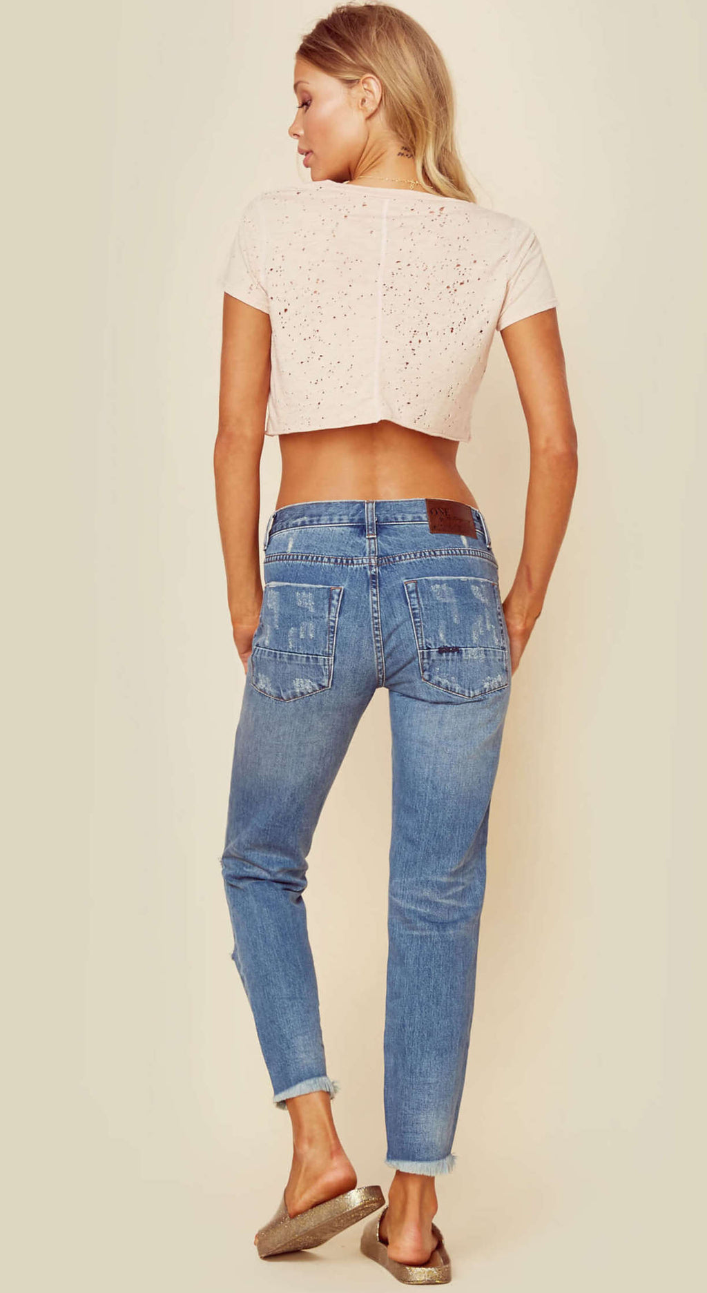One Teaspoon Pacifica Freebirds Jeans