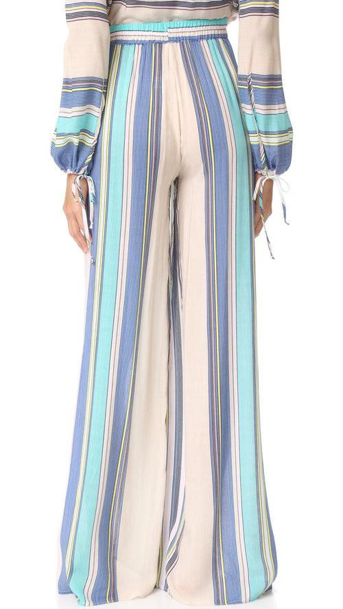 Wildfox Boardwalk Stripe Havana Pants