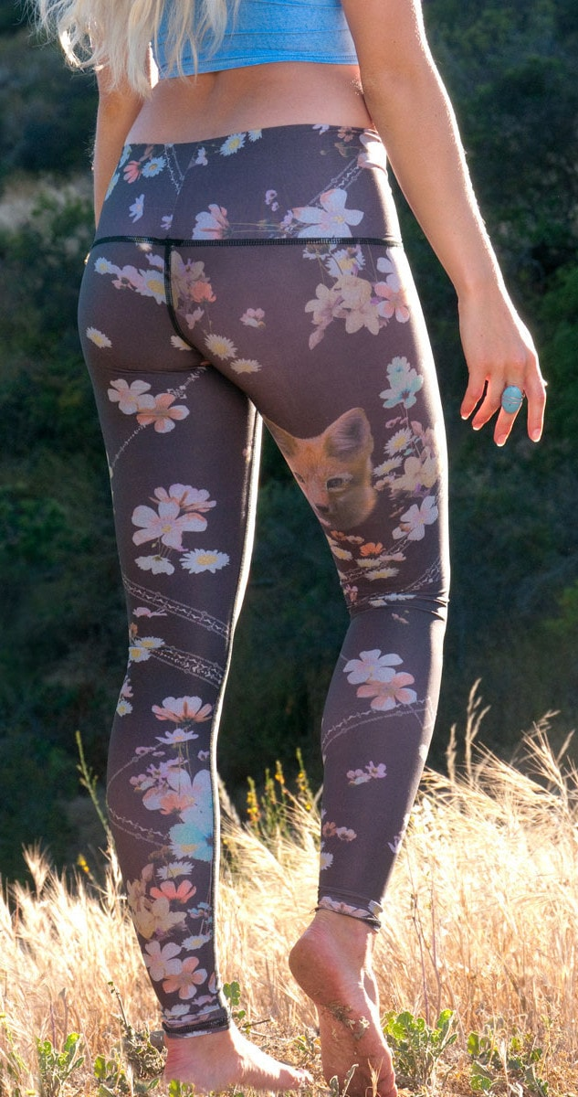 Teeki Wildflower Fox Hot Pant