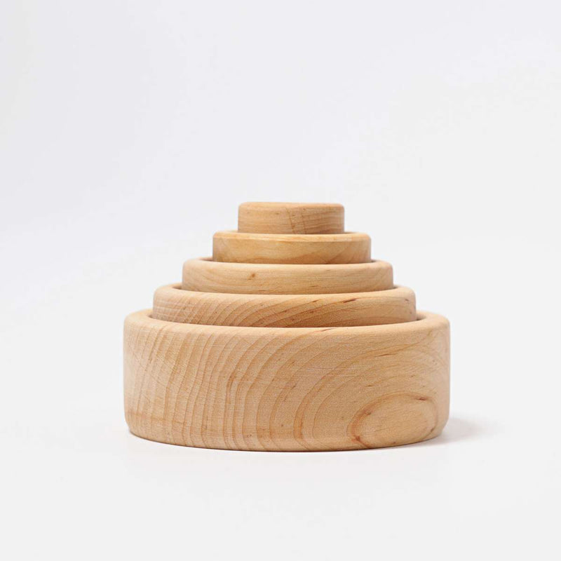 Grimm's - Stacking Bowls Natural