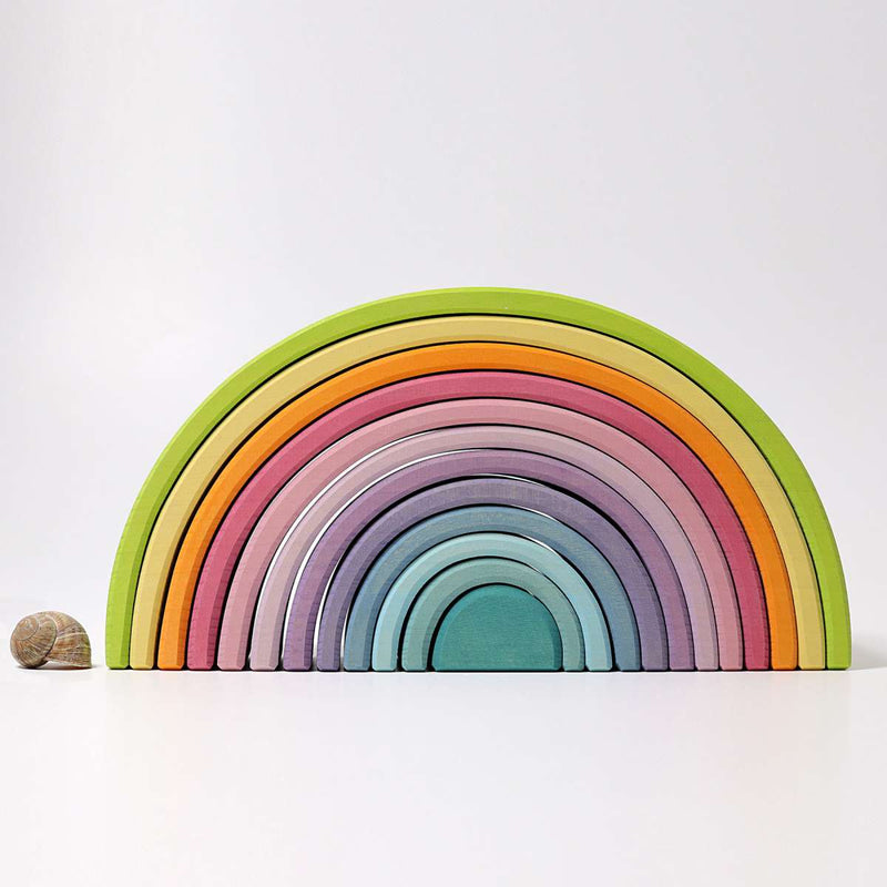 Grimm's Large Pastel Rainbow - Wooden World
