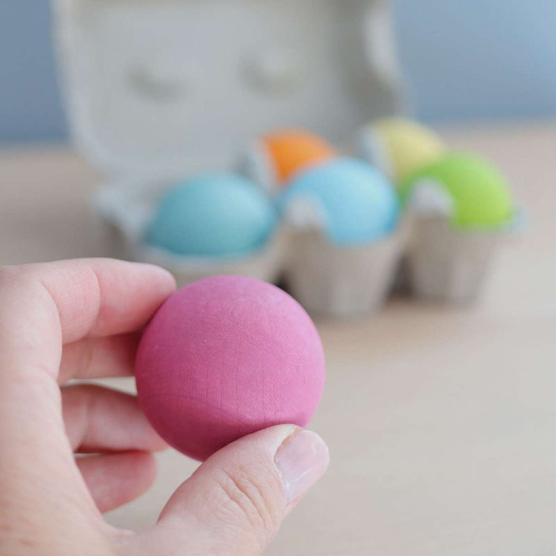 Grimm's Large Pastel Balls - Wooden World