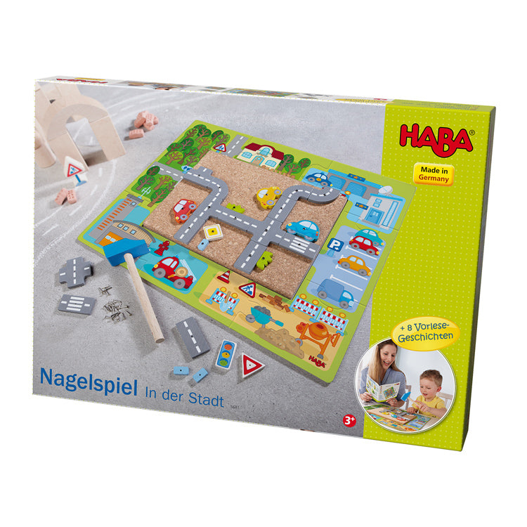 Haba - Tap a Shape Town - Wooden World