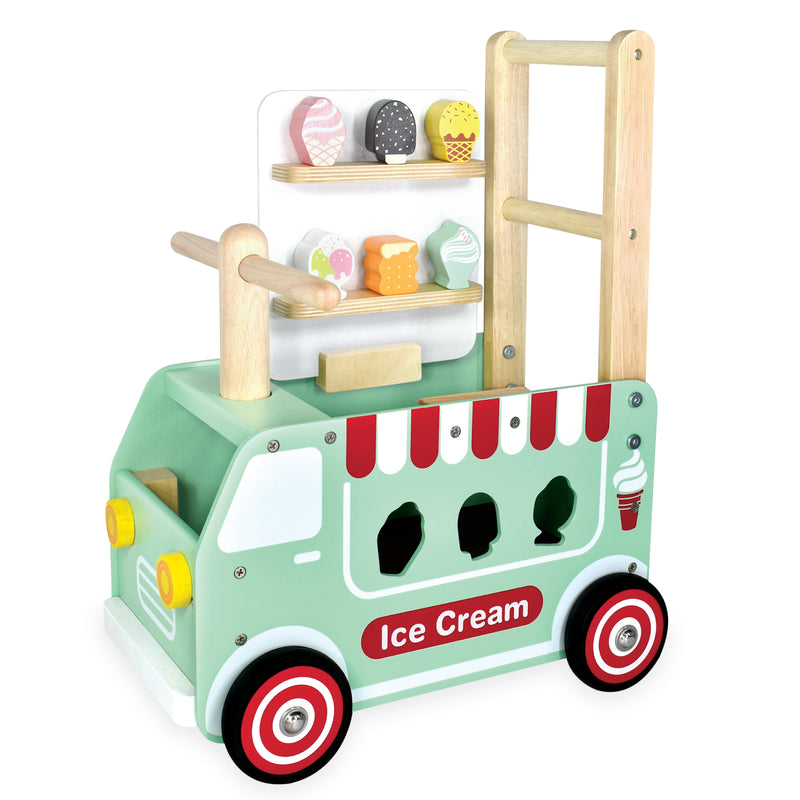 Walk & Ride Ice Cream Truck