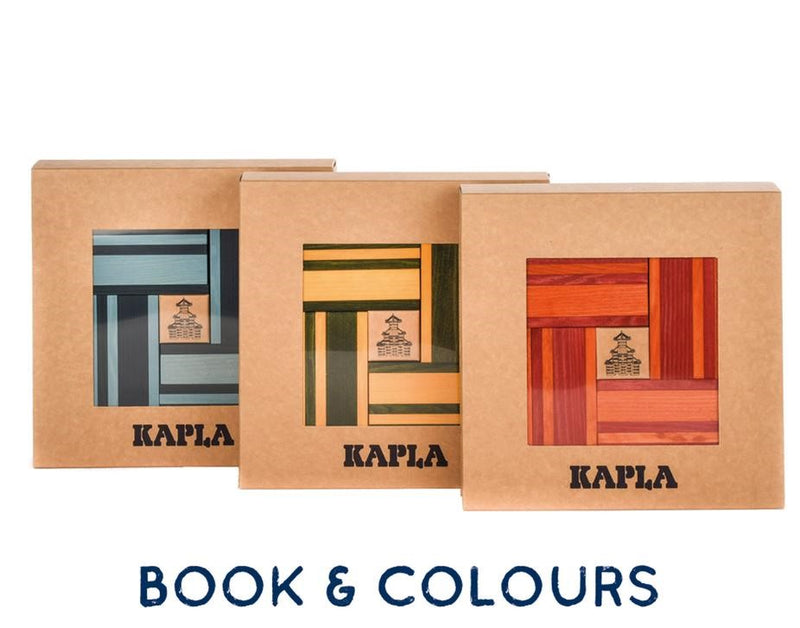 KAPLA - Book & Colour Sets