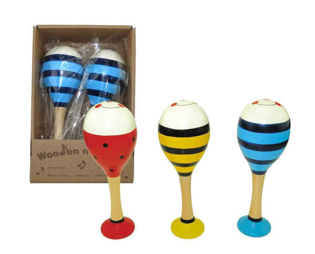 Large Maraca with base (pair)