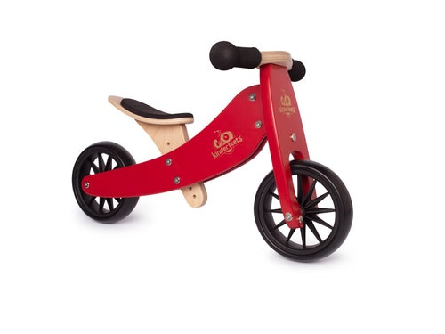 Kinderfeets Tiny Tot 2 in 1 (Cherry Red)