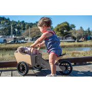Kinderfeets Wooden Cargo Trike (racing red)