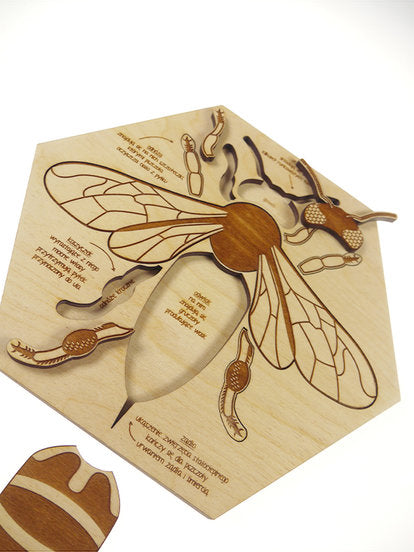 Busy Bee Wooden Puzzle