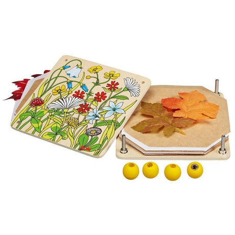 Flower Press-GOKI-Wooden World-Educational-Toys Australia