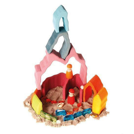 Grimm's Coral Reef Stacker - Wooden World