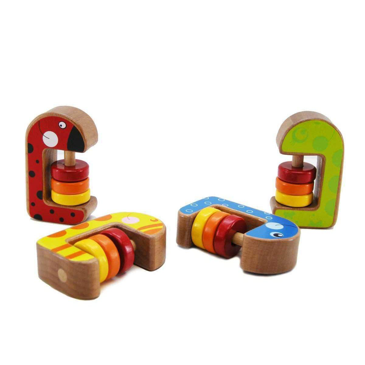 Wooden Abacus Rattle | Wooden World Educational Toys & More