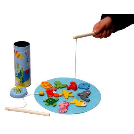 Fishing Set-KaperKidz-Wooden World-Educational-Toys Australia