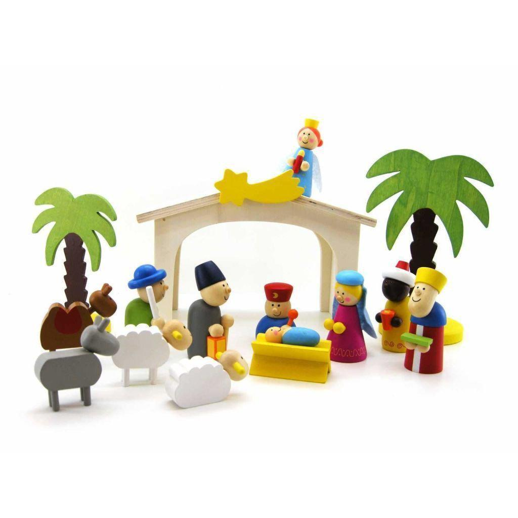 Nativity Play Set-KaperKidz-Wooden World-Educational-Toys Australia