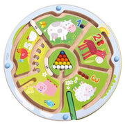 Magnetic Number Maze-HABA-Wooden World-Educational-Toys Australia