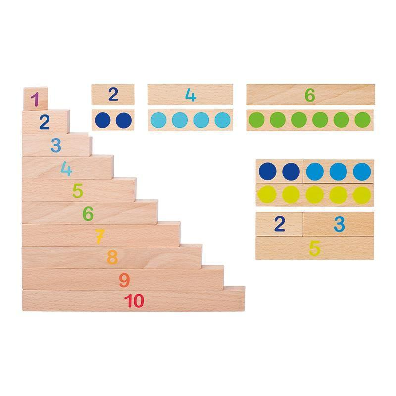 Maths Calculation Sticks-GOKI-Wooden World-Educational-Toys Australia