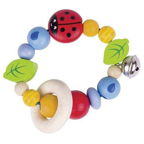 Rattle Ladybird-Heimess-Wooden World-Educational-Toys Australia