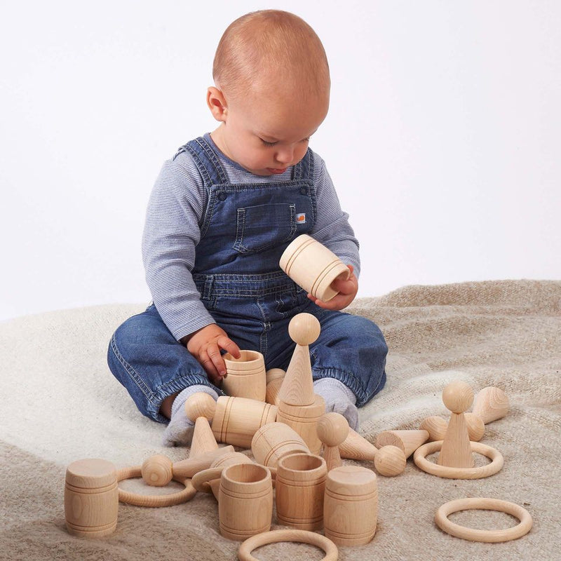 TickiT - Wooden Heuristic Play Set