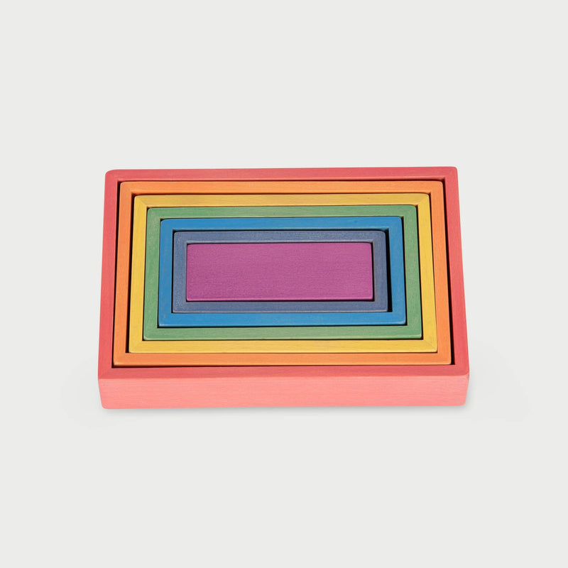 TickiT - Rainbow Architect Rectangles