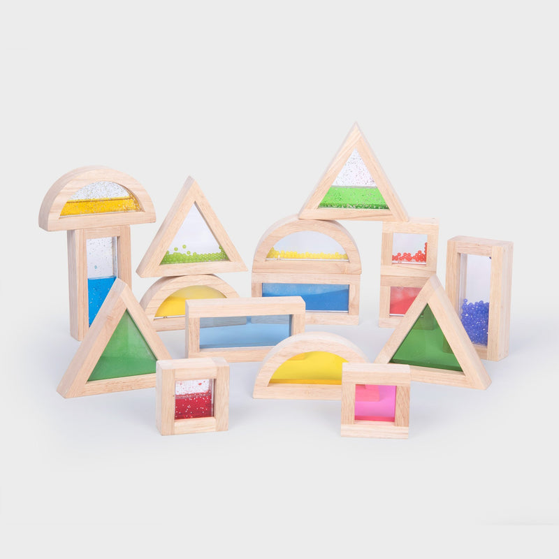 TickiT - Sensory Rainbow Blocks