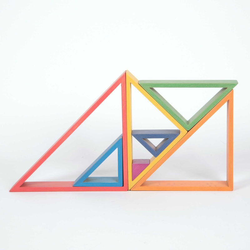 TickiT - Rainbow Architect Triangles