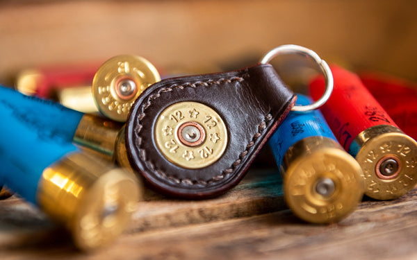J.H. Leather Exclusive Shotgun keyring