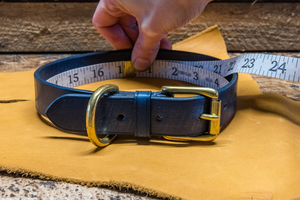How to measure your dog collar