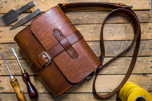 The Berwyn Bag, Handmade Leather Bag